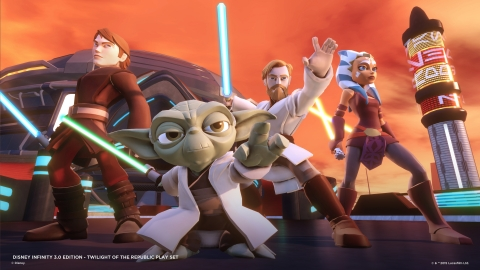 The Disney Infinity 3.0 Edition video game is available now in North America. (Photo: Business Wire)
