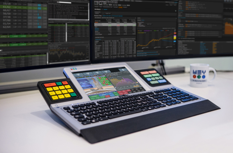 WEY Smart Touch Keyboard (Photo: WEY Technology AG)
