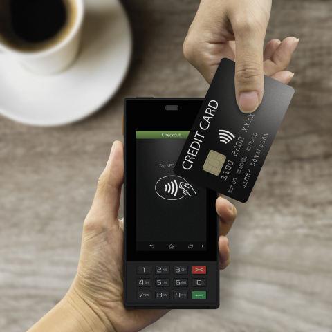 WisePOS accepts NFC payment anytime anywhere (Photo: Business Wire)