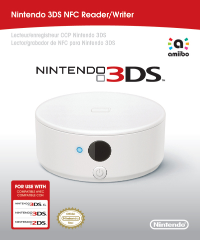 The Nintendo 3DS NFC Reader/Writer accessory allows players to enjoy amiibo figures and cards on all other systems in the Nintendo 3DS family (Photo: Business Wire)