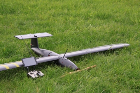 Raptor E1 UAV powered by HES fuel cell system (Photo: Business Wire)