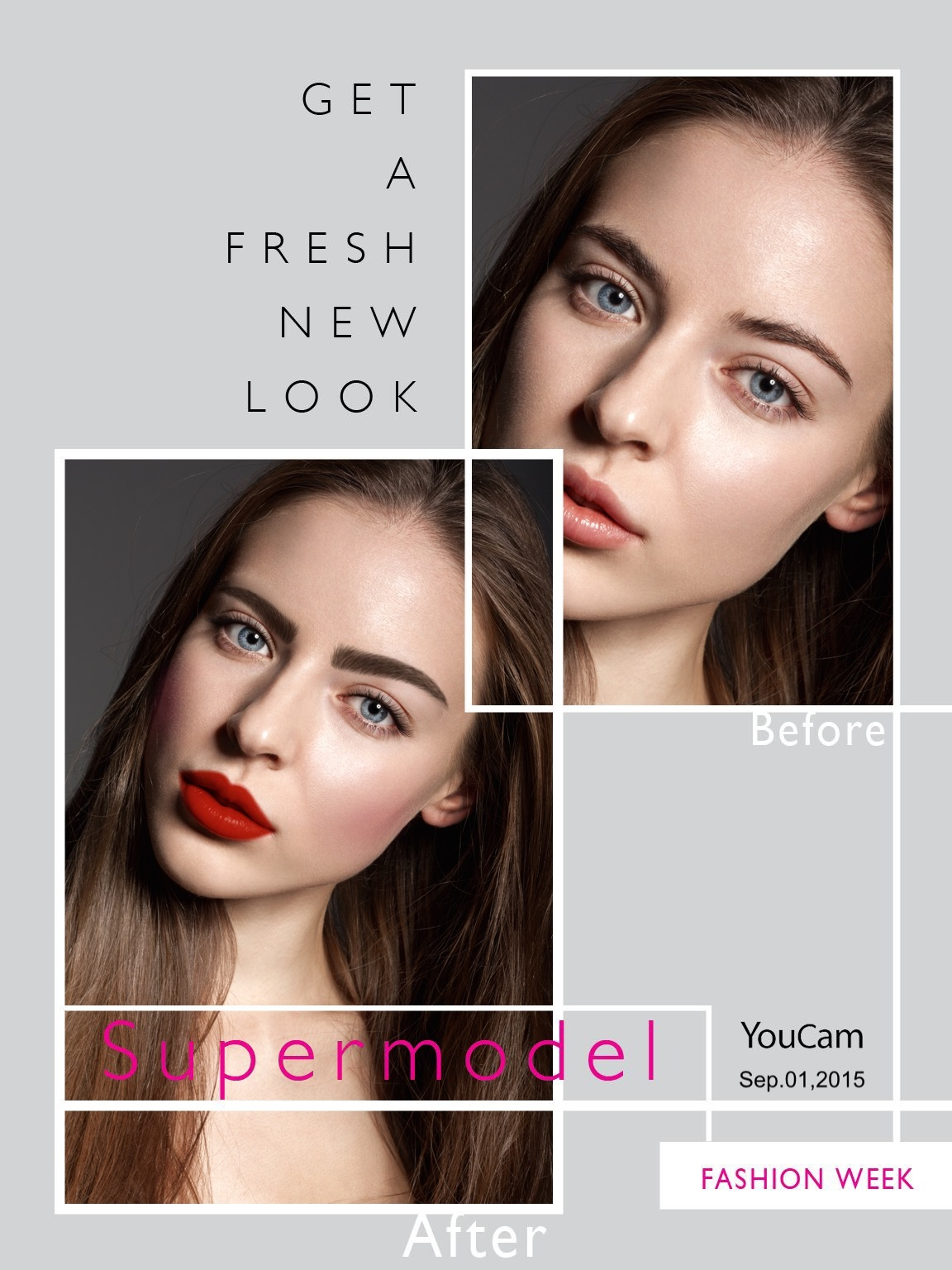 Brings Fashion Week 2015 Runway-Inspired Makeup Looks to YouCam Makeup | Business Wire