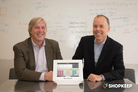 ShopKeep's New CFO John Baule and ShopKeep's CEO Norm Merritt