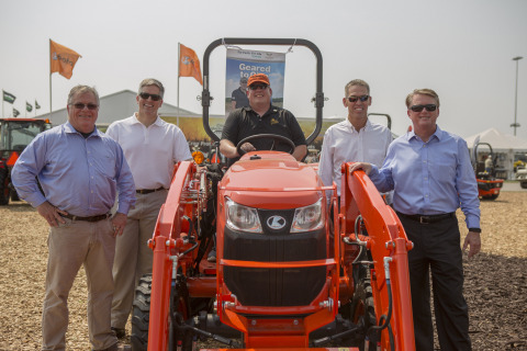 Left to Right: Michael O'Gorman, FVC Founder; Todd Kunau, President and CEO, Kunau Implement; Jason  ...