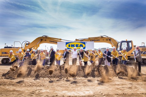 Ikea Breaks Ground At Site Of Future Burbank Relocation