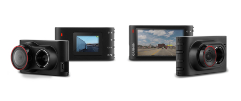 Introducing Garmin Dash Cam 30 and Dash Cam 35. The new generation of Garmin dash cams. (Photo: Business Wire)