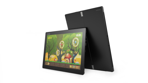 ideapad miix 700 tablet puts new spin on tablet computing (Photo: Business Wire)