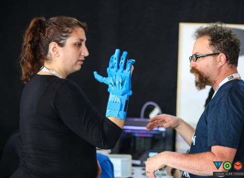 Tikkun Olam Makers Makeathon focused on disability. (Photo: Business Wire)