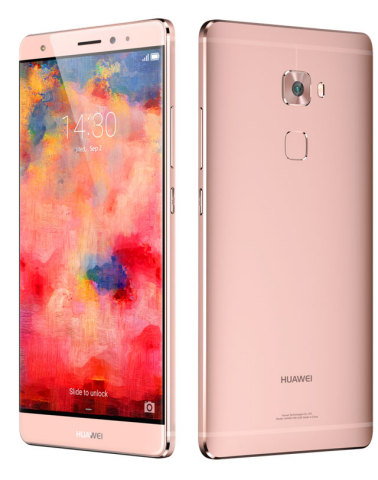 Huawei Unveils the Mate S: A Flagship Smartphone that Revolutionizes Touch Technology (Photo: Business Wire)