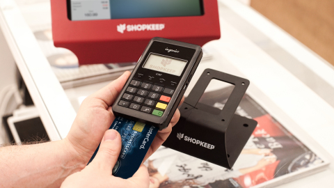 ShopKeep provides free EMV reader and other savings through the MasterCard Easy Savings Program (Photo: Business Wire)