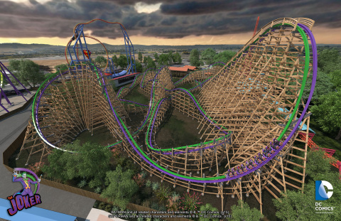 The Joker Full Ride Overview (Photo: Six Flags Discovery Kingdom)