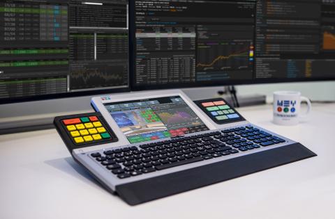 WWEY Smart Touch(智慧觸摸)鍵盤(照片:WEY Technology AG)