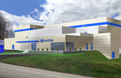 Lightweight metals leader Alcoa is expanding its R&D center in Pennsylvania (rendering of additive manufacturing facility shown here) to accelerate the development of advanced 3D-printing materials and processes.