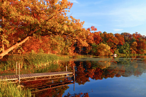 Apple River in Amery, Wis. Photo Courtesy TravelWisconsin.com