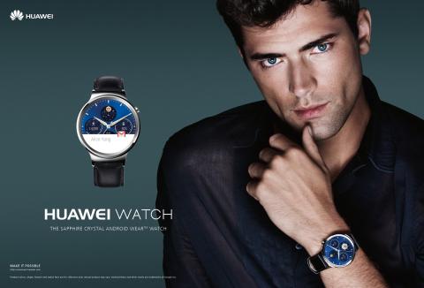 Huawei Watch Mario Testino Sean O'Pry (Photo: Business Wire)