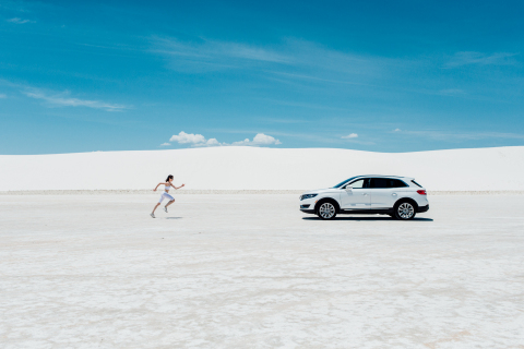 The all-new 2016 Lincoln MKX with an available 360-degree camera makes discovering the unseen an art ...