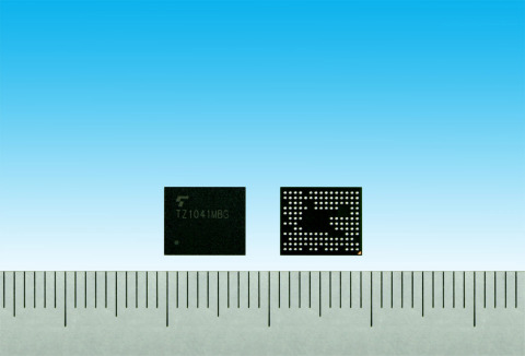 "Toshiba: a new application processor ""TZ1041MBG"" for IoT applications. (Photo: Business Wire)"