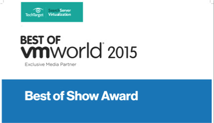Ravello named Best of Show at VMworld 2015. (Graphic: Business Wire)