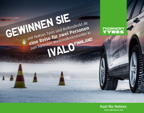 """In Ivalo, Finnish Lapland, about 300km north of the Arctic Circle, is the hardness-testing ground of the tyre manufacturer Nokian - the """"White Hell"""".(Photo: Business Wire)"""