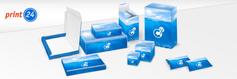 Individually printable packages at print24.com (Graphic: Business Wire)