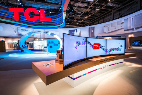 TCL Curved UHD TV H8800 (Photo: Business Wire)