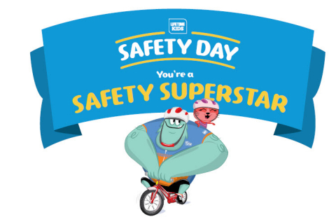 All are welcome to Kids Safety Day at Life Time locations. (Graphic: Life Time Fitness)