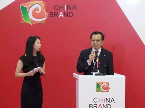 Li Dongsheng (right), Chairman and CEO of TCL Group (Photo: Business Wire)