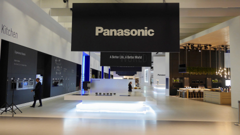 Panasonic booth at IFA2015. (Photo: Business Wire)