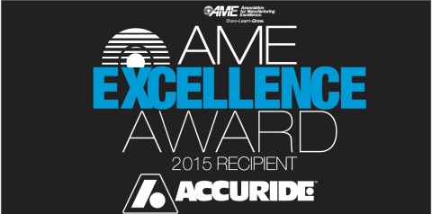 AME 2015 Excellence Award Recipients (Graphic: Business Wire)