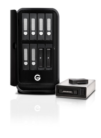 G-Technology Evolution series - 4 new products (写真:ビジネスワイヤ)