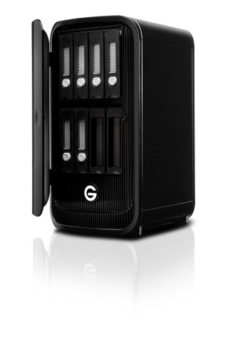 G-SPEED STUDIO XL with two ev Series Bay Adapters (Photo: Business Wire)