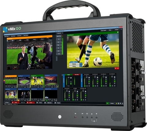 vMix Go Portable Live Production Studio solution (Photo: Business Wire
