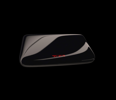 The TUMI Global Locator – A New Wireless Tracking Device. Any Bag. Anywhere.™ (Photo: Business Wire)
