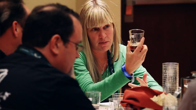 Behind the scenes at at the Great American Beer Festival® judging. Credit: Brewers Association.