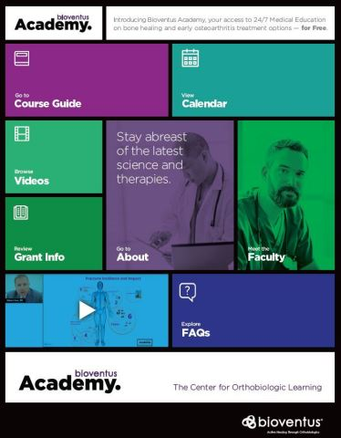 Bioventus Academy is found at www.bioventusacademy.com