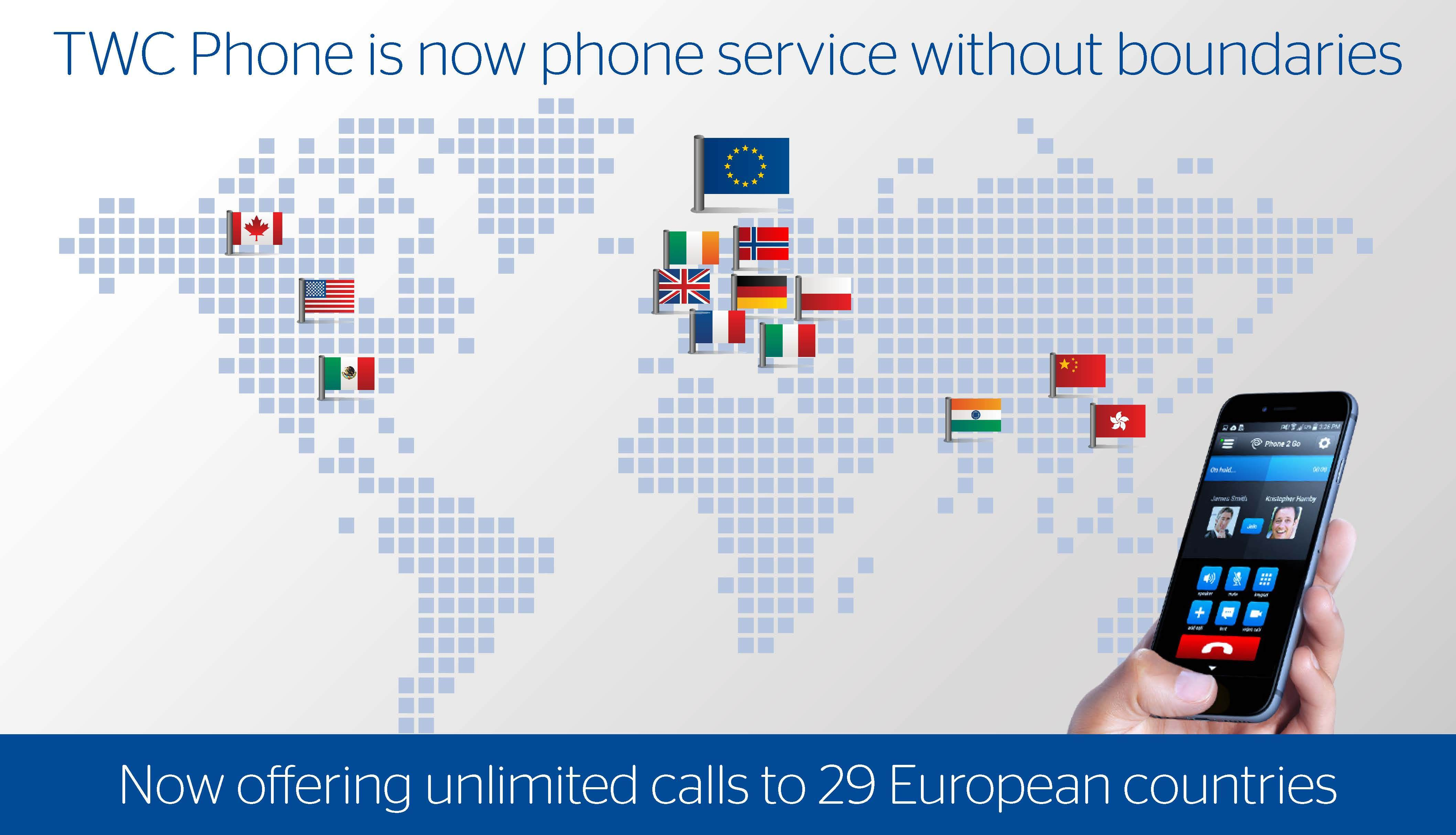 Business Phone Line Wiring Trusted Diagram Ether Wall Jack Services Unlimited Calling To 29 European Countries Now Included In Time Rh Businesswire Com Telephone Basics For Dsl
