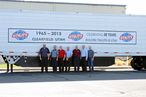 Utility Trailer's Clearfield, Utah manufacturing plant celebrates 50th Anniversary. (Photo: Business ...