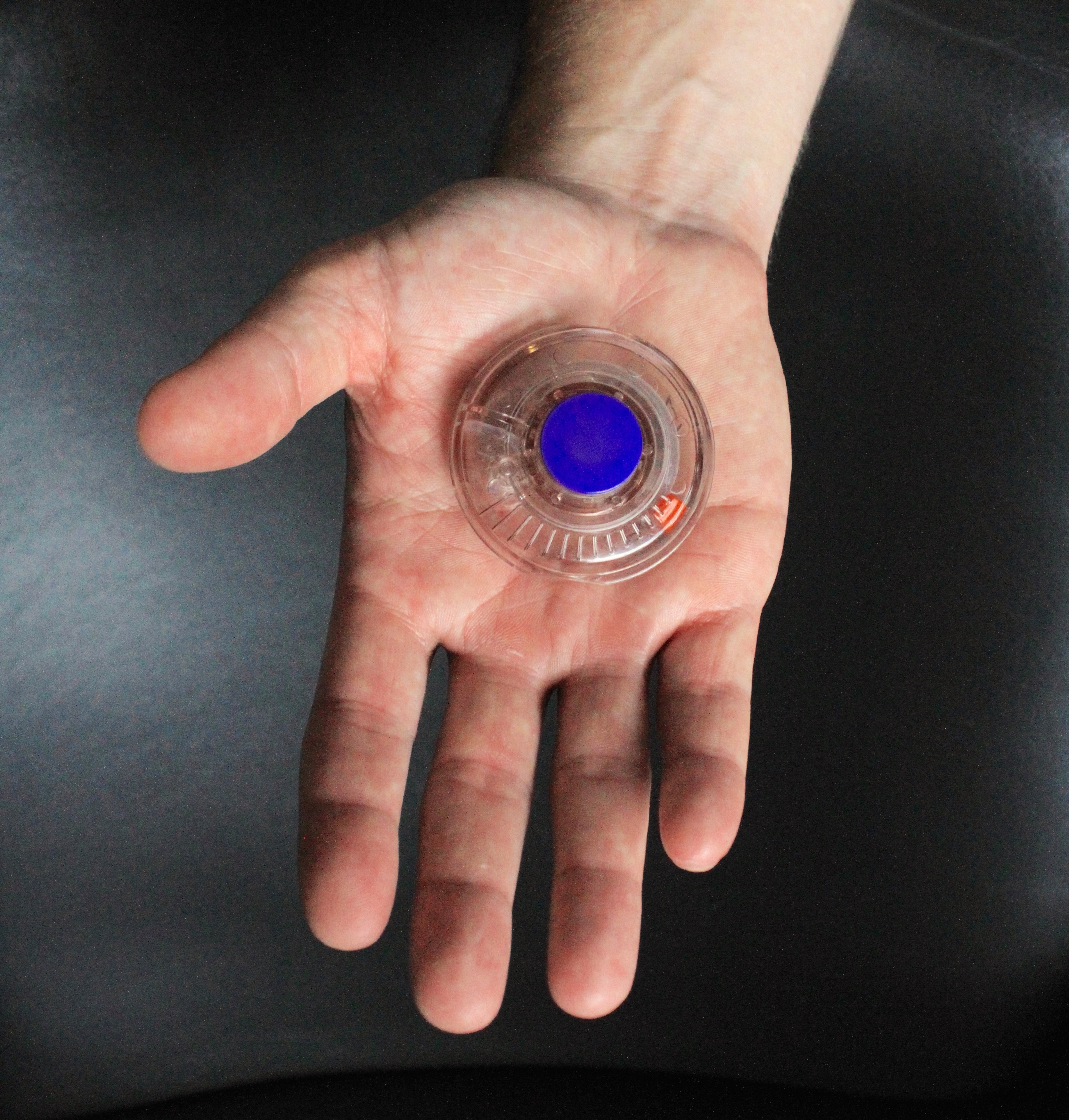 The small wearable Enable Injector that adheres to the body, delivering high volume drugs easily and comfortably at home or work, also is expected to cut overall drug development and healthcare costs. (Photo: Business Wire)