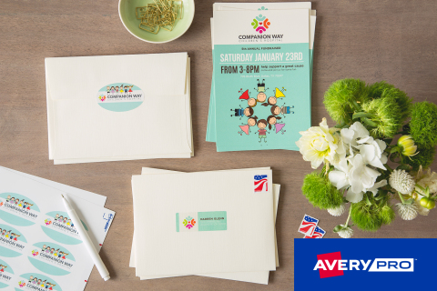 Avery Products Corporation announced the launch of a new line of professional-grade label stock for  ...