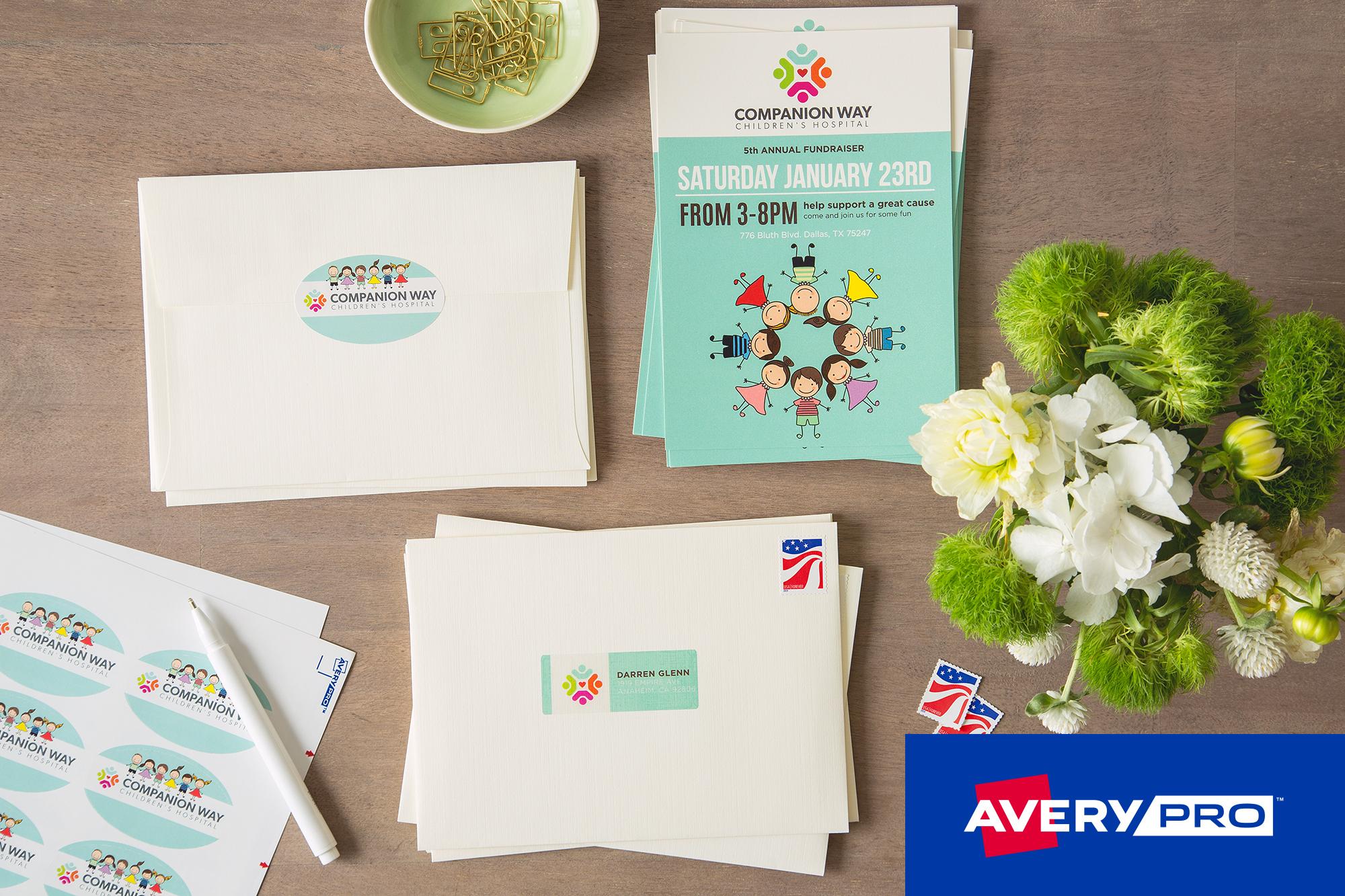 AveryPRO™ Launches Pressure-Sensitive Line for Dry Toner Digital ...