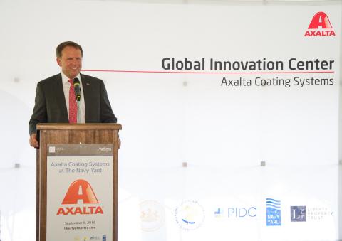 Axalta Chairman and CEO Charlie Shaver (Photo: Axalta)