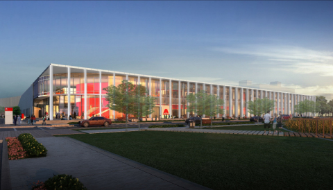 Rendering of Axalta's Global Innovation Center (Photo: Axalta)