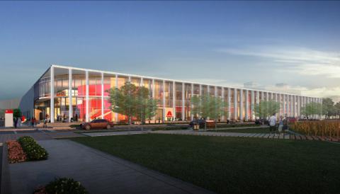 Rendering of Axalta's Global Innovation Center (Photo: Axalta)