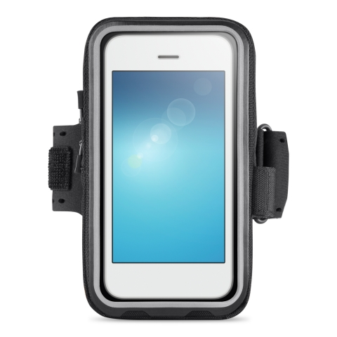"Lightweight and comfortable, the Storage Plus Armband comes in two convenient sizes for phones from 5"" to 5.5"". (Photo: Business Wire)"