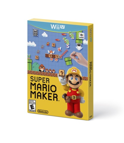 Super Mario Maker launches exclusively for Wii U in stores, in the Nintendo eShop and at Nintendo.co ...