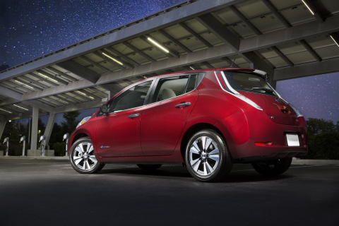 2016 Nissan LEAF (Photo: Business Wire)
