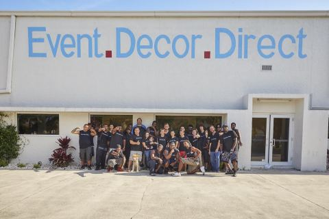 home decor direct sales companies event decor direct makes inc 5000 list of fastest growing 12225
