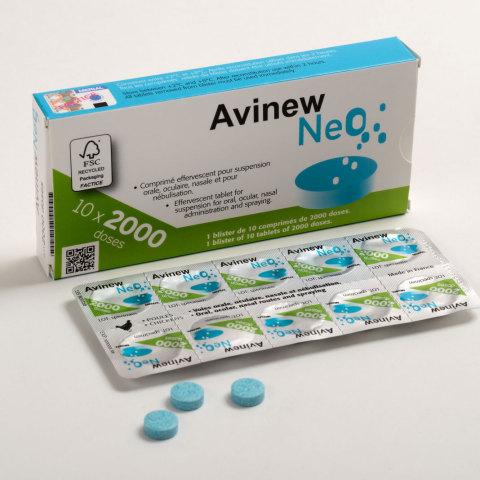 Avinew™ NeOのパッケージ(写真:ビジネスワイヤ)