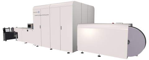 Pitney Bowes AcceleJet Printing and Finishing System