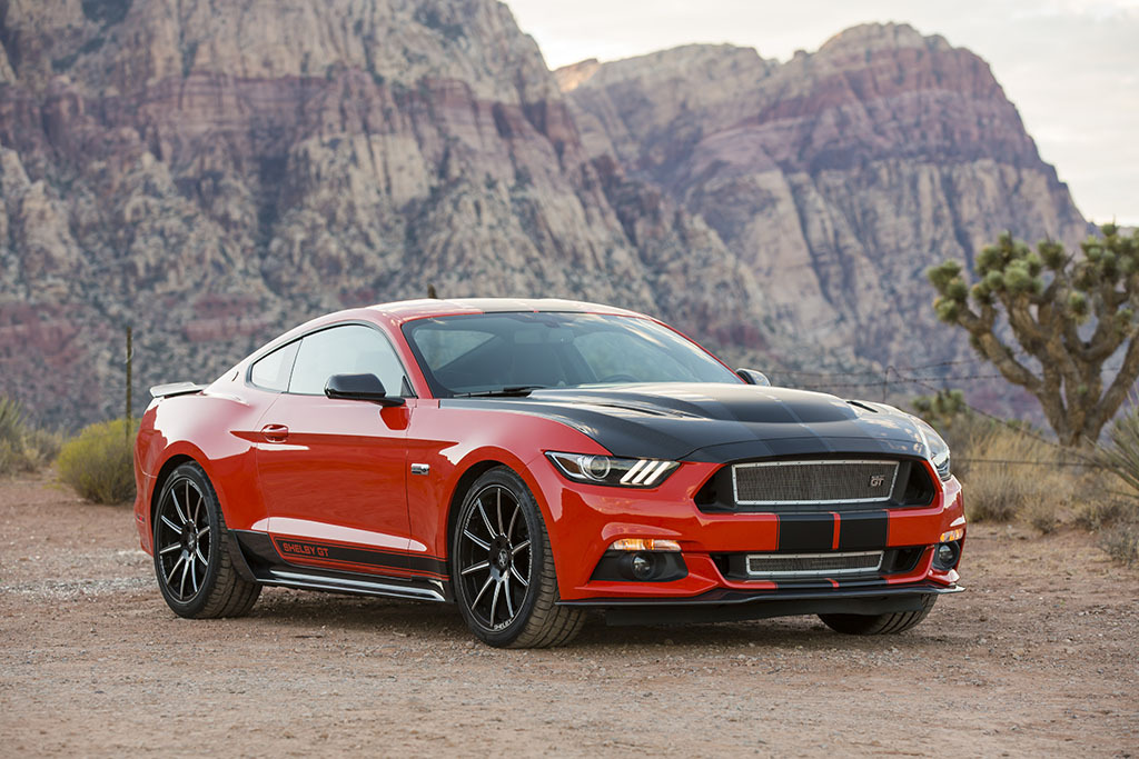 Shelby American Unveils New High Performance Shelby GT Package for